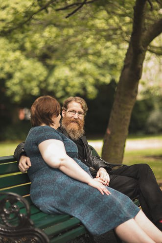 J + J ~ Engagement Portraits Photography ~ Herbert Park, Dublin, Ireland