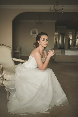 Alternative Natural Documentary Fine Art Wedding Photography Bride portraits in the Heritage Hotel Portlaoise 0004