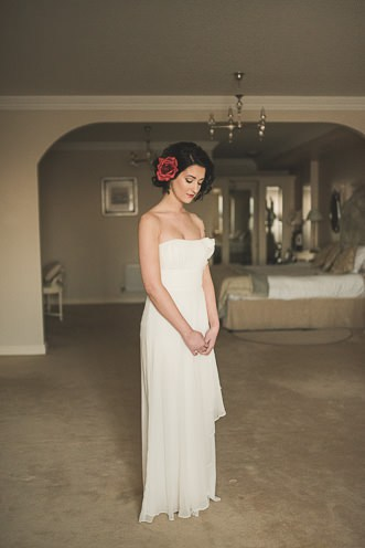 Alternative Natural Documentary Fine Art Wedding Photography Bride portraits in the Heritage Hotel Portlaoise 0015