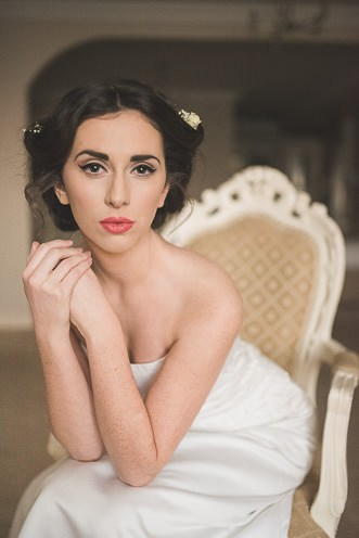 Alternative Natural Documentary Fine Art Wedding Photography Bride portraits in the Heritage Hotel Portlaoise 0019